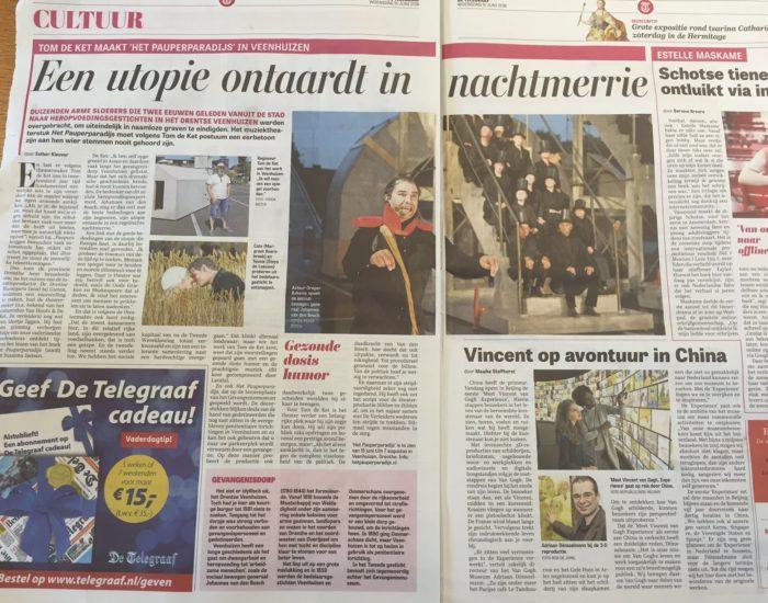 Het Pauperparadijs In De Telegraaf